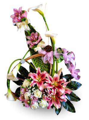 Kale ljiljani ruže